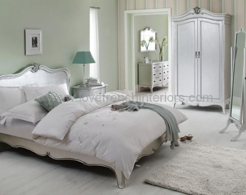 Paris Silver Bedroom Collection